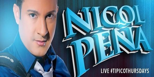 Nicol Peña En Mi Encanto Lounge (7-12-2014)