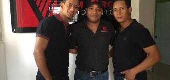 Los musicos de Kerubanda gravando en el studio Angelo Vargas A&M Vargas Productions SRL