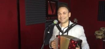 El Prodigio gravando nuevo tema en el studio A&M Vargas Productions SRL