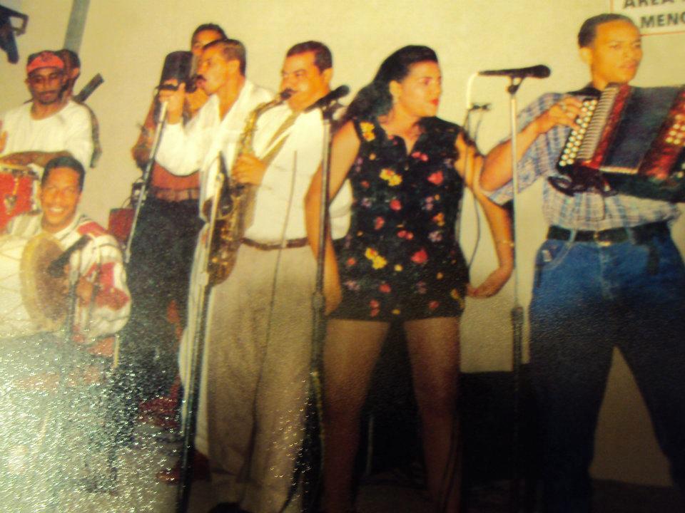 Wilman Peña & su conjunto típico en su inicio