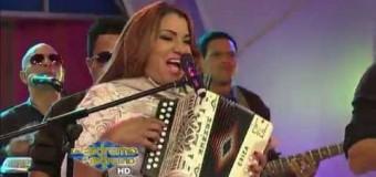 Presentacion de Maria Diaz en De Extremo A Extremo (Noviembre 2014)