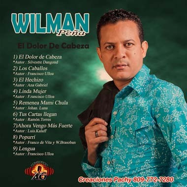 Wilman Pena ElDolor Cd 2013