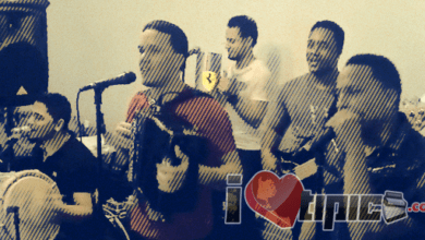 Photo of El Cuarteto de Ahora Julio Swing, Bebe Tambora, Chichy Guira, Kelvin Bajo, Chris la Voz Steven Castro 05-29-13