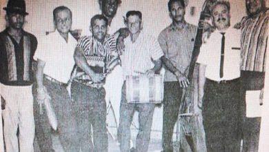 Photo of Foto historica de Tatico Henriquez y su conjunto tipico en el 1966