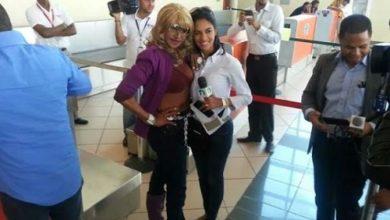 Photo of Fefita La Grande en el aeropuerto