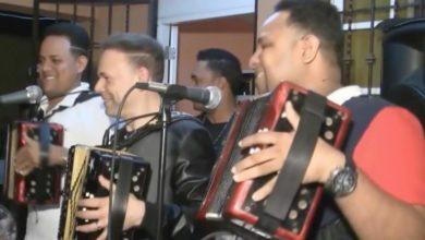 Photo of El Prodigio, Nixon Roman Y Raul Roman Tocando A 3 Acordeones