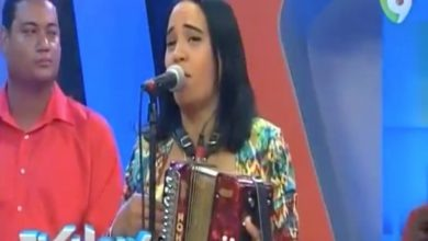 Photo of Presentación de Raquel Arias en El Show del Mediodía (Agosto 2016)