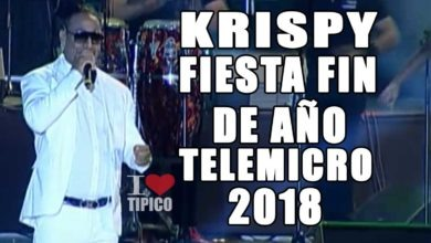 Photo of Krisppy En La Fiesta Fin de año Grupo Telemicro 2018