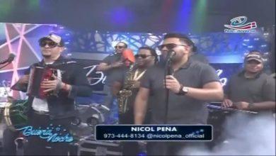 Photo of Presentacion de Nicol Peña en  Buena Noche (Video)