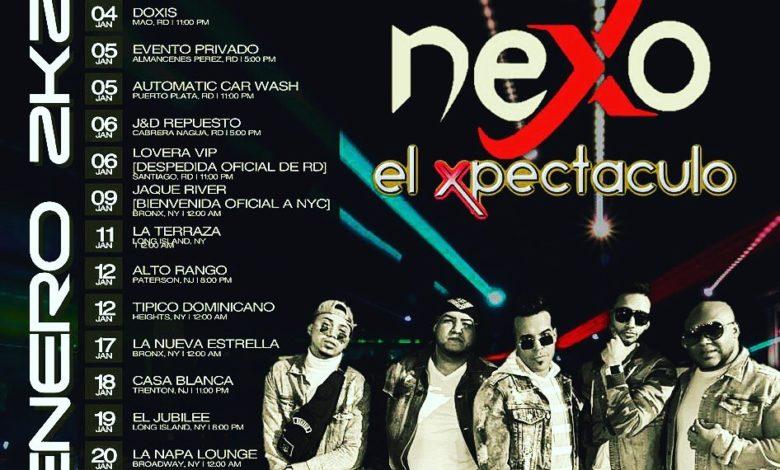 Ya esta disponible el itinerario de Nexo El Klan Perfecto mes de enero 2020