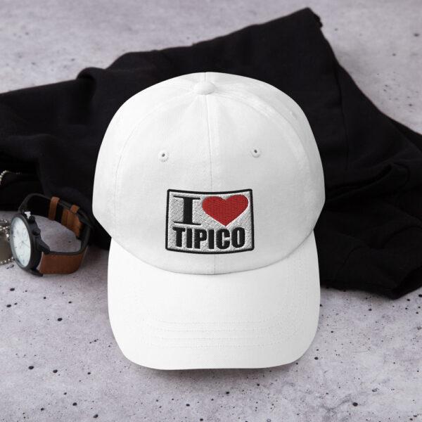 Gorra I Love Tipico Blanca, I Love Tipico Dad hat White