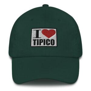 Gorra I Love Tipico verde oscuro, I Love Tipico Hat Spruce