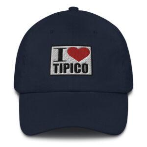 Gorra I Love Tipico Azul Marino, I Love Tipico hat Navy