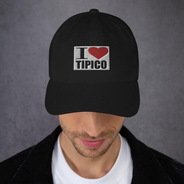 I Love Tipico Negra, I Love Tipico hat Black